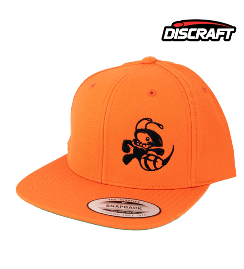 Snapback hat with Buzzz design