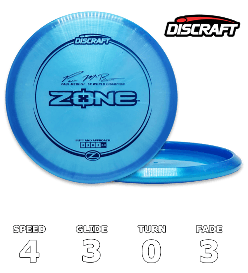 Zone Z Line Paul McBeth Signature Series