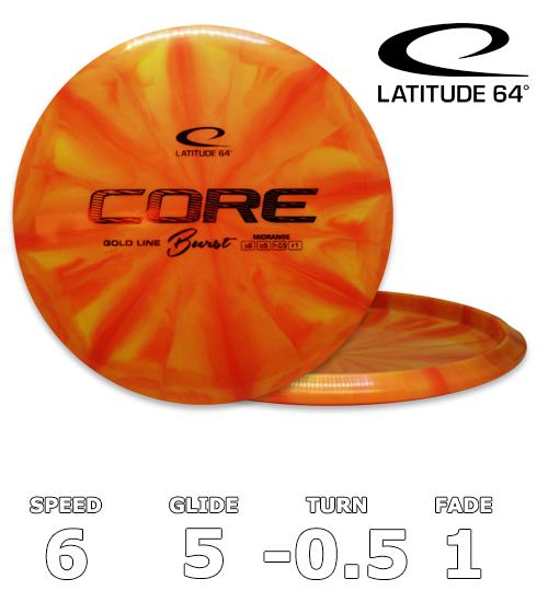 Core Gold Line Burst