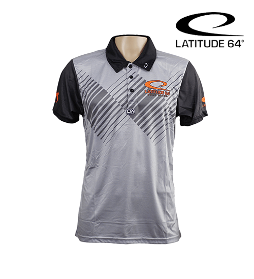 Latitude 64° Polo Ascent Grey