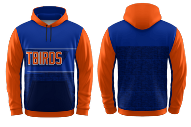 YOUTH T-Birds Sublimated Hooded Sweatshirt #2