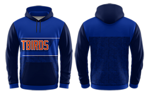YOUTH T-Birds Sublimated Hooded Sweatshirt #1