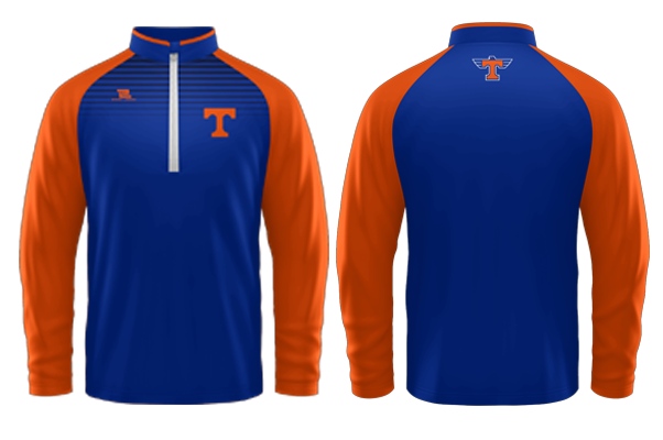 Timpview Sublimated 1/4 Zip Jacket #1
