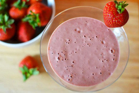 The Perfect Delicious Strawberry Banana Smoothie For Family