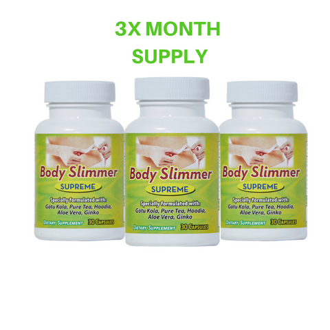 Body Slimmer Supreme x 3 Month Supply - EZ Health Solutions