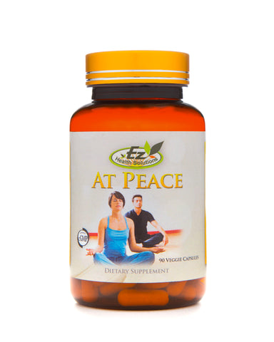 At Peace Daily Stress Management 90 Vegetarian Capsules - EZ Health Solutions