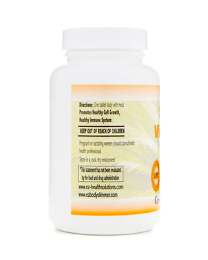 Super Vitamin C for Maximum Absorption & Immune Support 100 Vegetarian Tablets - EZ Health Solutions