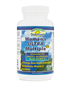Women's Everyday Essential Supplements with Multivitamin, Fish Oil and Energy Boosting Greens Powder - EZ Health Solutions
