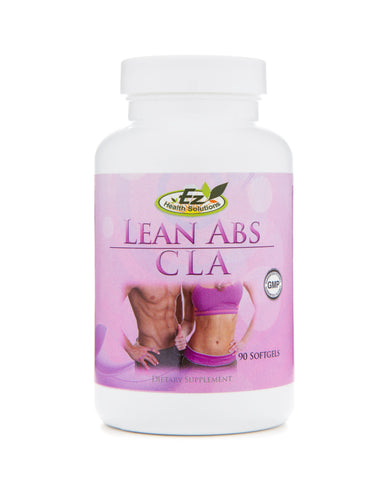 Lean Abs CLA Natural Supplement for Fat Loss 90 SoftGels - EZ Health Solutions
