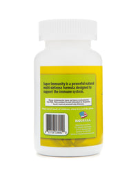Super Immunity Natural Defense from Colds and Flu 90 Vegetarian Capsules - EZ Health Solutions