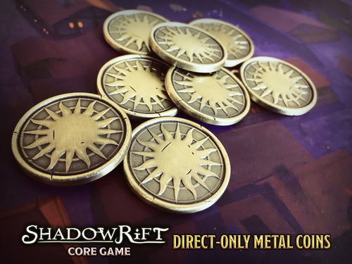 Shadowrift Metal Coins (8)