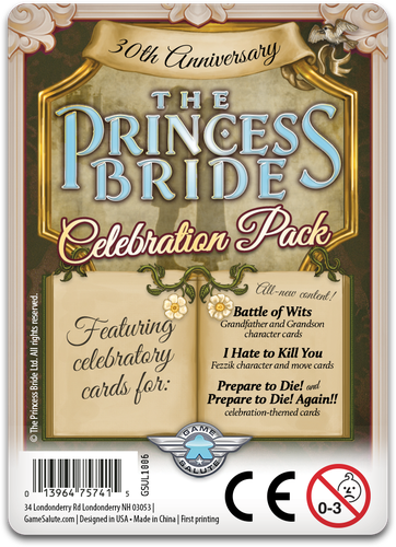 The Princess Bride: 30th Anniversary Celebration Pack