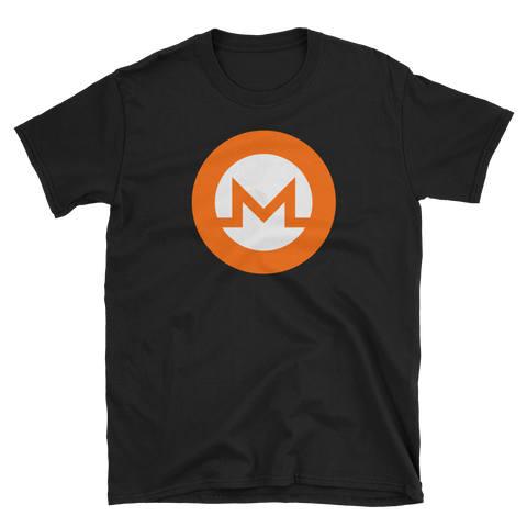 Monero XMR Color Premium T-Shirt -  - mycryptoneat.com crypto apparel merch