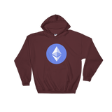 Ethereum ETH Color Hooded Sweatshirt -  - mycryptoneat.com crypto apparel merch