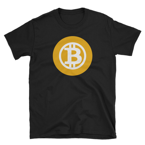 Bitcoin Gold BTG Color Premium T-Shirt -  - mycryptoneat.com crypto apparel merch