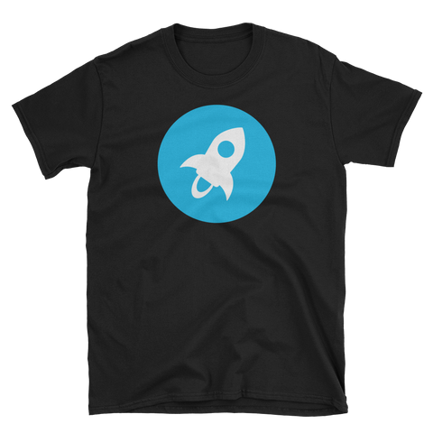 Stellar XLM Color Premium T-Shirt -  - mycryptoneat.com crypto apparel merch