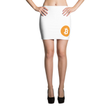 Bitcoin BTC Mini Skirt -  - mycryptoneat.com crypto apparel merch