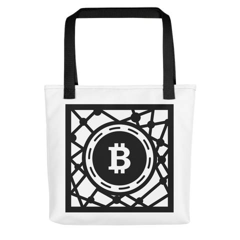 Decentralized Crypto Currency Network Tote bag -  - mycryptoneat.com crypto apparel merch