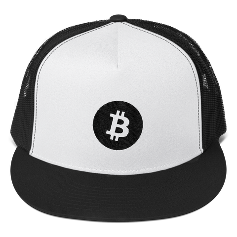 Bitcoin Trucker Cap -  - mycryptoneat.com crypto apparel merch