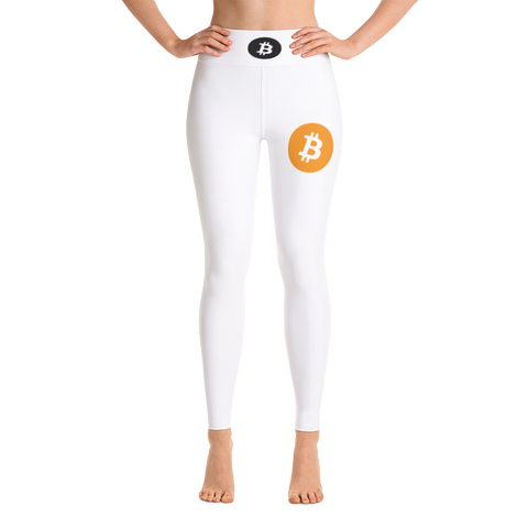 Bitcoin BTC Yoga Pants Leggings -  - mycryptoneat.com crypto apparel merch