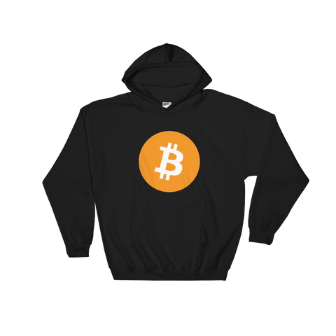 Bitcoin BTC Color Hooded Sweatshirt -  - mycryptoneat.com crypto apparel merch