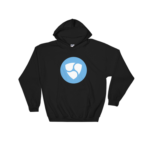 NEM XEM Color Hooded Sweatshirt -  - mycryptoneat.com crypto apparel merch