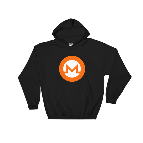 Monero XMR Color Hooded Sweatshirt -  - mycryptoneat.com crypto apparel merch