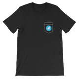 Stellar XLM Pocket Color Deluxe T-Shirt -  - mycryptoneat.com crypto apparel merch