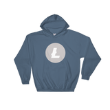 Litecoin LTC Color Hooded Sweatshirt -  - mycryptoneat.com crypto apparel merch