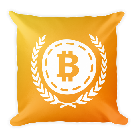 Bitcoin Pillow -  - mycryptoneat.com crypto apparel merch