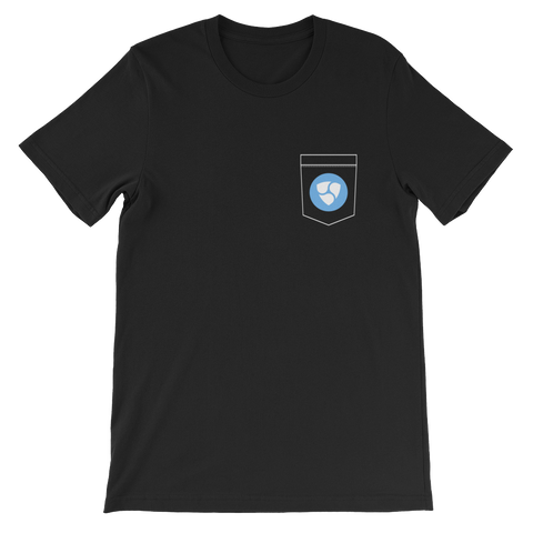 NEM XEM Pocket Color Deluxe T-Shirt -  - mycryptoneat.com crypto apparel merch