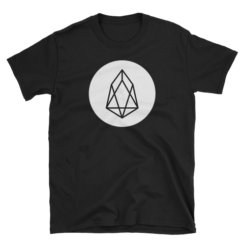 Eos EOS White Premium T-Shirt -  - mycryptoneat.com crypto apparel merch