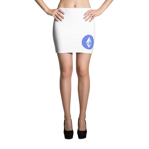Ethereum ETH Mini Skirt -  - mycryptoneat.com crypto apparel merch
