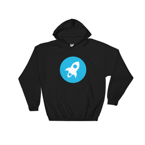 Stellar XLM Color Hooded Sweatshirt -  - mycryptoneat.com crypto apparel merch
