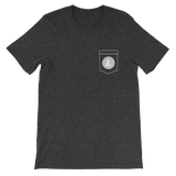 Litecoin LTC Pocket Color Deluxe T-Shirt -  - mycryptoneat.com crypto apparel merch