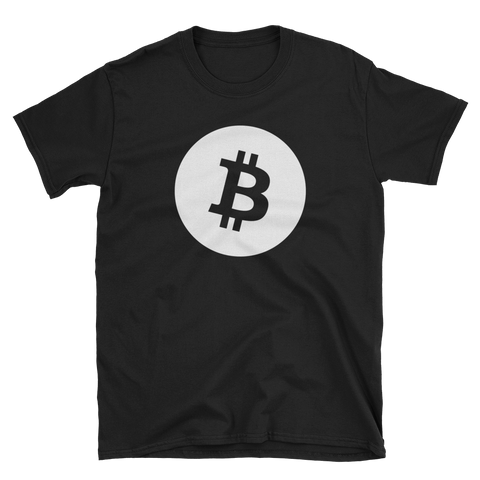 Bitcoin BTC White Premium T-Shirt -  - mycryptoneat.com crypto apparel merch