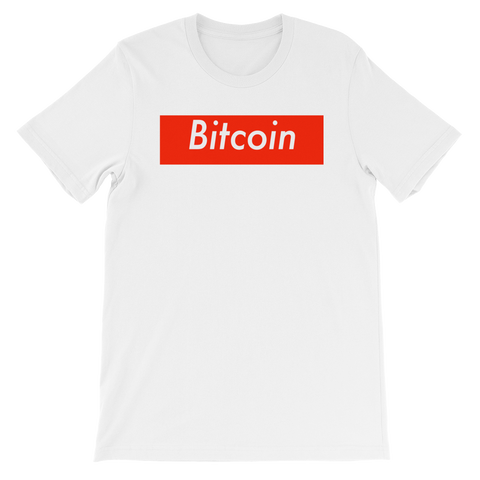 Bitcoin BTC Supreme Deluxe T-Shirt -  - mycryptoneat.com crypto apparel merch