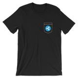 Ripple XRP Pocket Color Deluxe T-Shirt -  - mycryptoneat.com crypto apparel merch