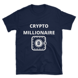 Crypto Millionaire T-Shirt -  - mycryptoneat.com crypto apparel merch