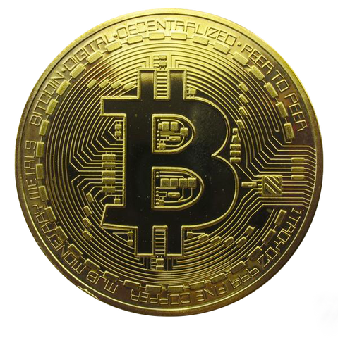 Gold Bitcoin BTC Souvenir 2016 Collectible Physical Coin - Coin - mycryptoneat.com crypto apparel merch