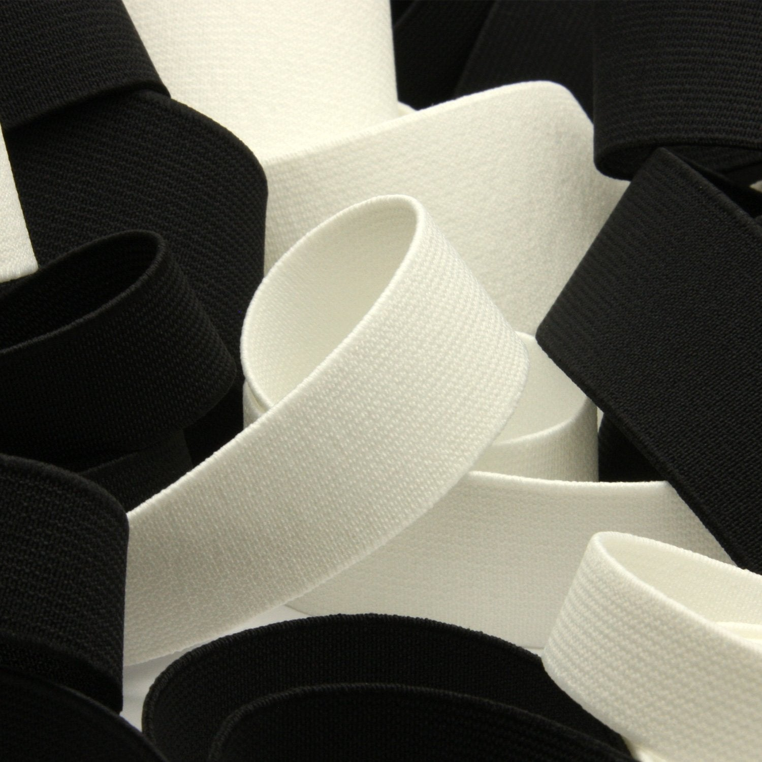 FUJIYAMA RIBBON Hard Type Inside Belt 40mm 9.14 Meters Roll Off White