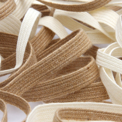 FUJIYAMA RIBBON Organic Cotton Ayatake Cord approx.8mm 9.14 Meters Roll