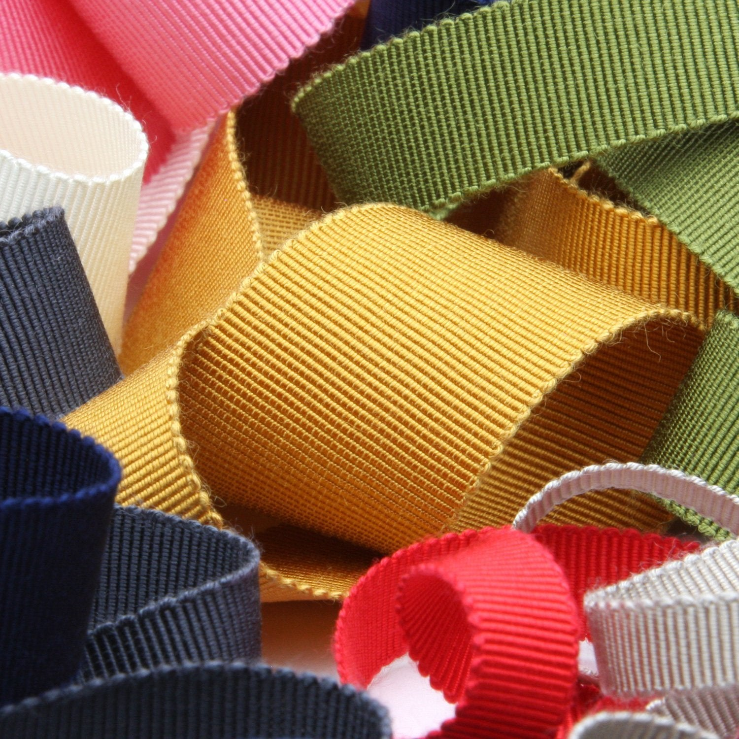 FUJIYAMA RIBBON Rayon Grosgrain Ribbon 5mm 9.14 Meters Roll