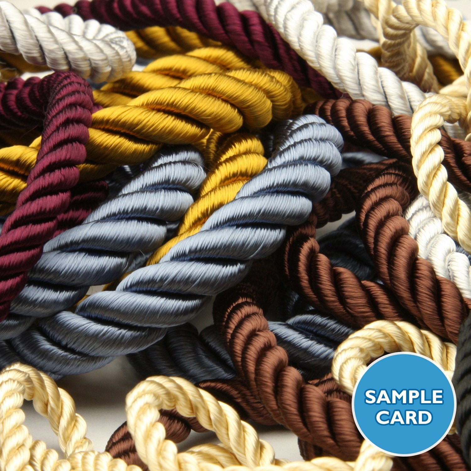 FUJIYAMA RIBBON Sample Card Rayon Twist Cord (FY-6080)