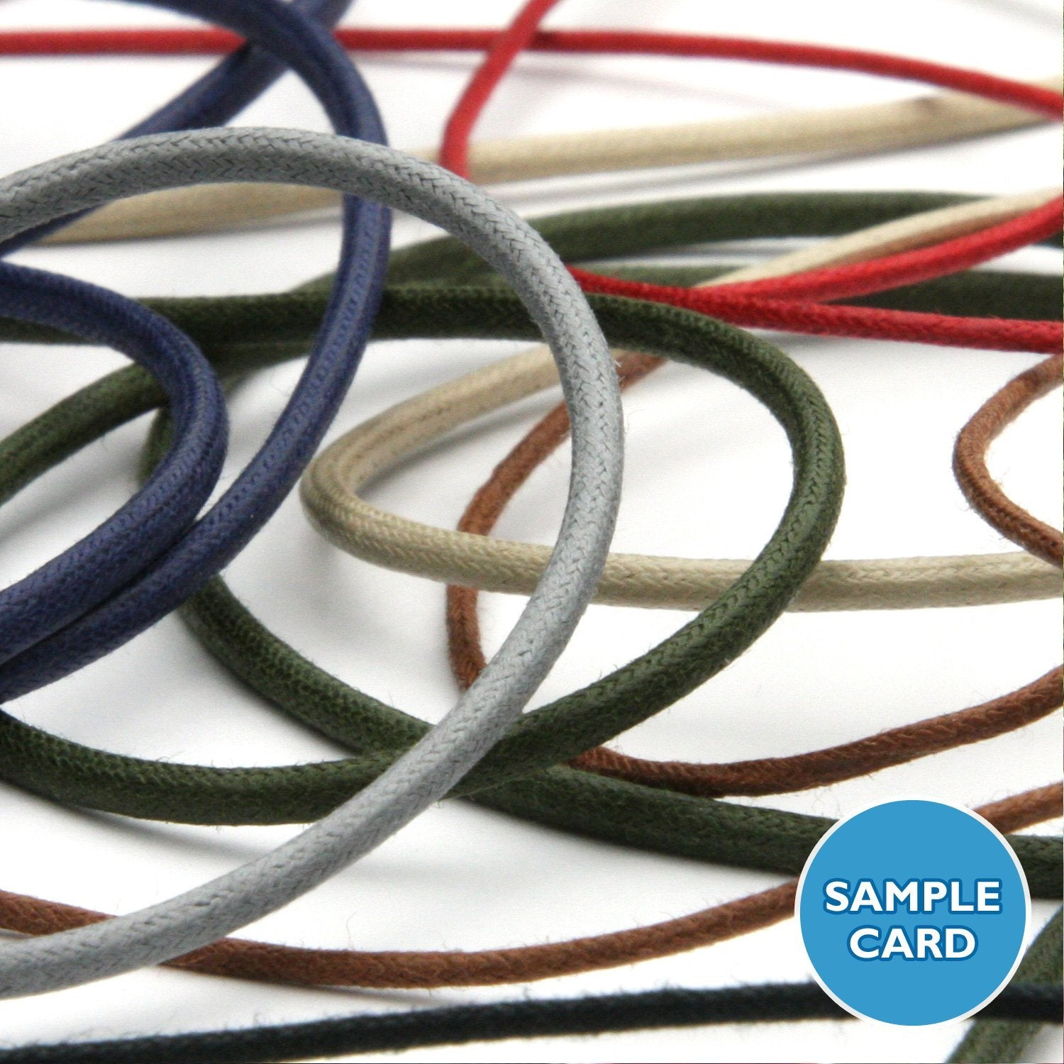 FUJIYAMA RIBBON Sample Card Waxed Cord (FY-C404)