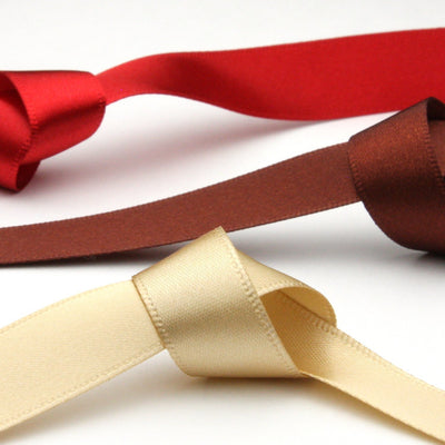FUJIYAMA RIBBON [Wholesale] Polyester Double-Face Satin Ribbon 3mm 30 Meters Roll