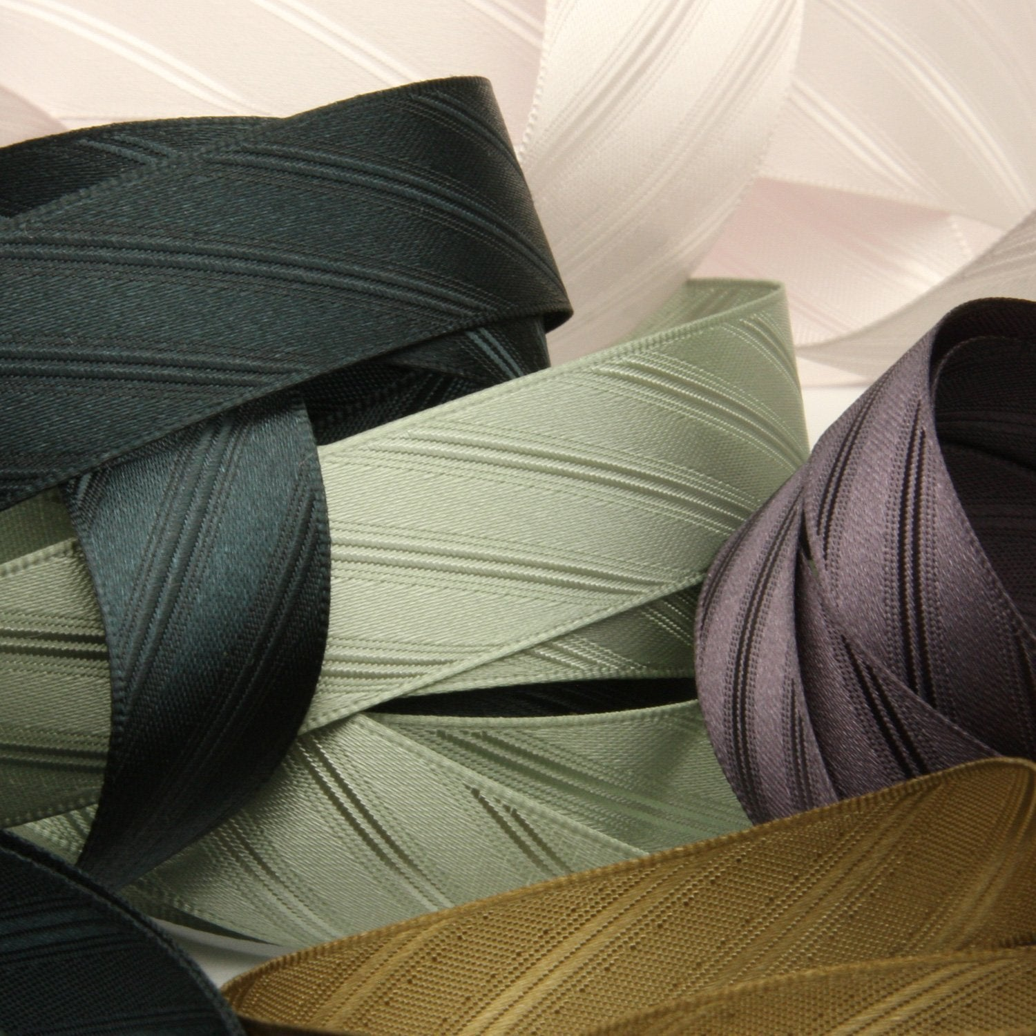 FUJIYAMA RIBBON [Wholesale] Twill Satin Ribbon 25mm 30 Meters Roll