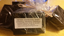 Load image into Gallery viewer, Charcoal Cleansing Bar Set of 3 - Sisters Soap Kitchen