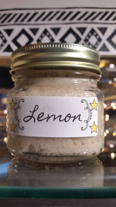 Lemon Sugar scrub - Sisters Soap Kitchen
