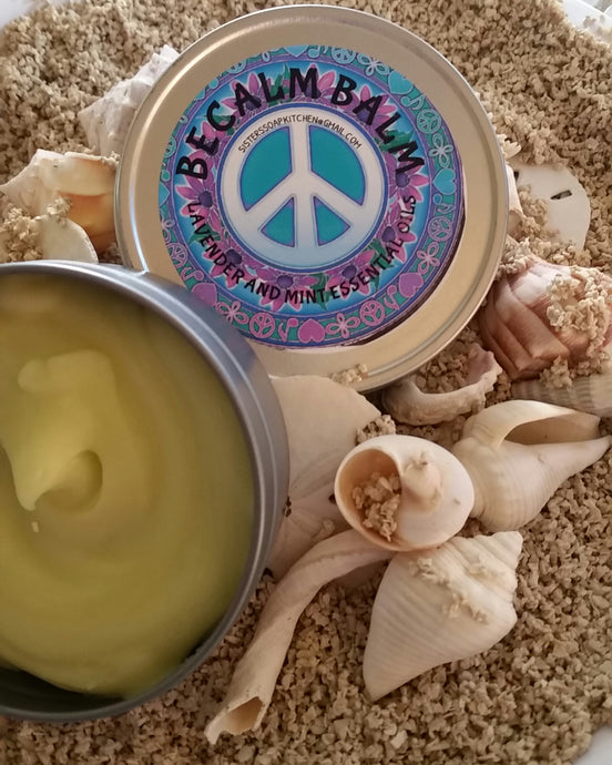 Becalm Balm - Sisters Soap Kitchen